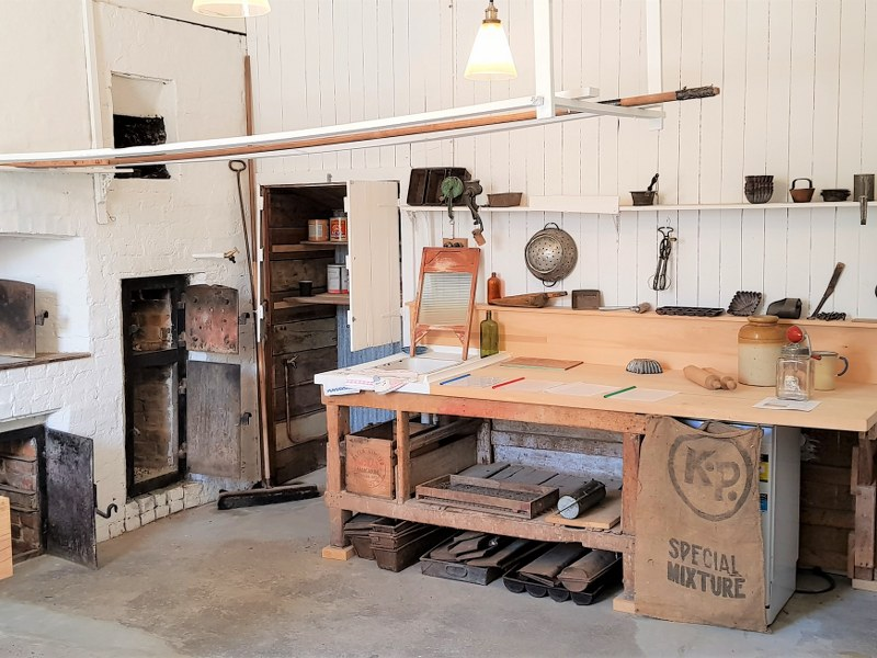 Inside the Millers Flat Bakehouse Museum